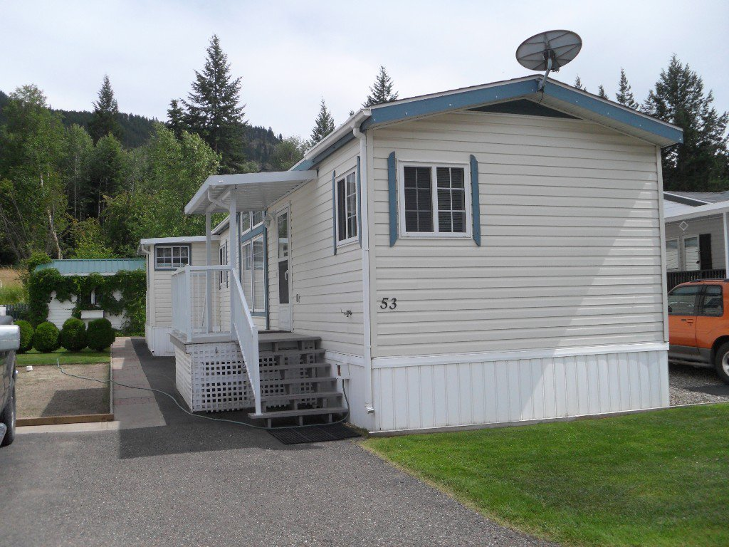 Main Photo: 53 4901 TCH EAST in KAMLOOPS: PRITCHARD Manufactured Home for sale : MLS®# 123372