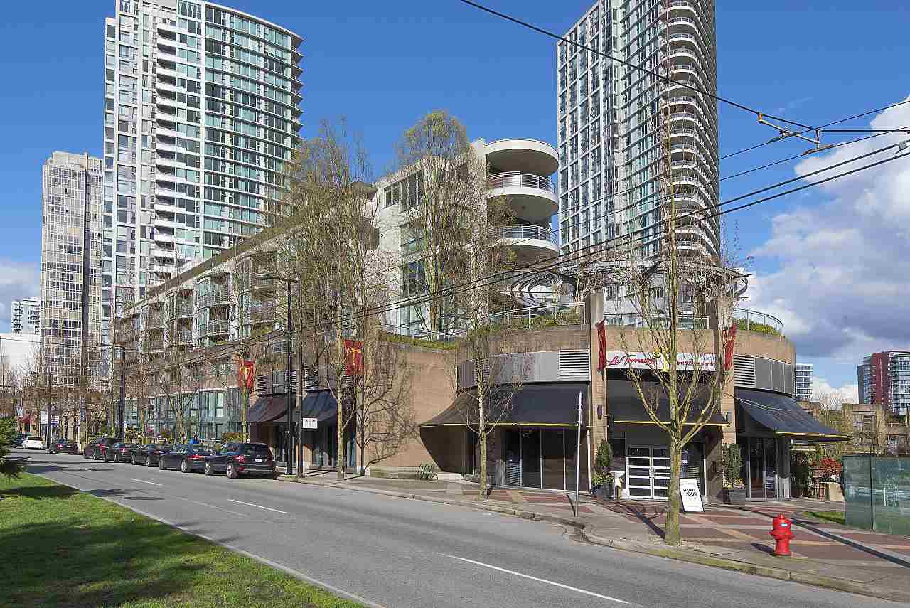 Main Photo: 802 1018 CAMBIE STREET in Vancouver: Yaletown Condo for sale (Vancouver West)  : MLS®# R2290923