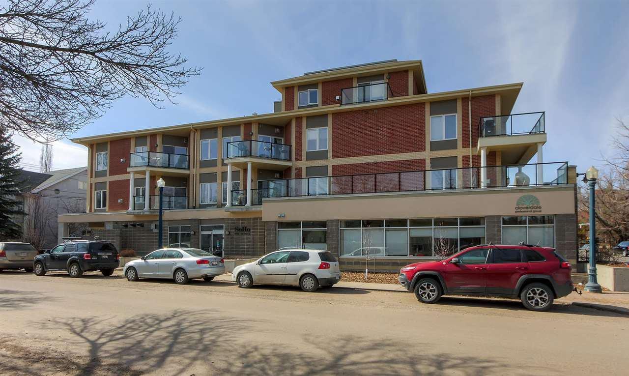 Main Photo: 9750 94 ST NW in Edmonton: Zone 18 Condo for sale : MLS®# E4150456