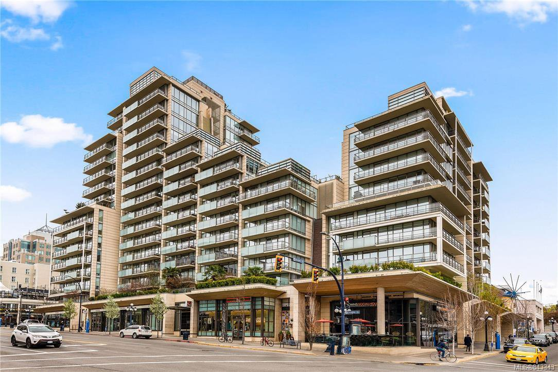 Main Photo: 1401 707 Courtney St in Victoria: Vi Downtown Condo for sale : MLS®# 843343