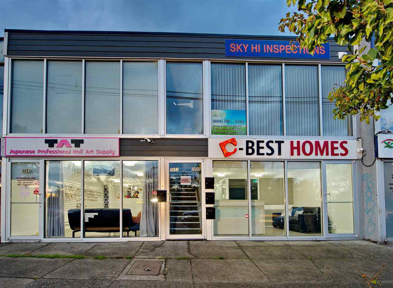 Main Photo: 2657 KINGSWAY Street in Vancouver: Collingwood VE Office for lease (Vancouver East)  : MLS®# C8036024