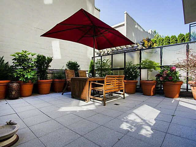 Amazing patio!  Almost 500 square feet!  Not on ground level.