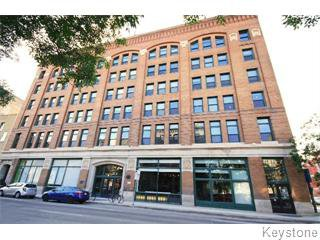 Main Photo: 503 110 Princess Street in Winnipeg: Exchange District Residential for sale (Downtown)  : MLS®# 1518994