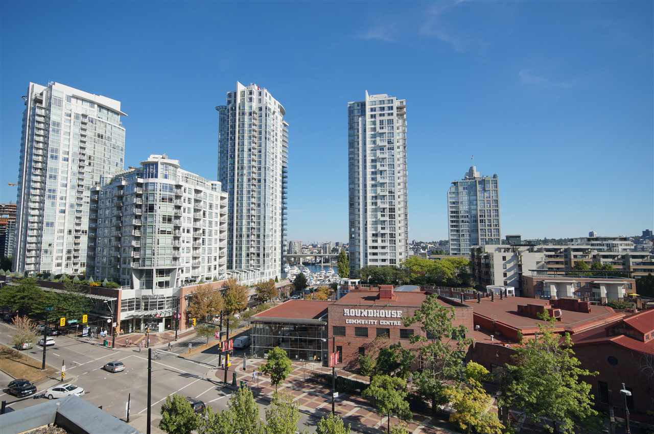 Main Photo: 605 212 DAVIE STREET in Vancouver: Yaletown Condo for sale (Vancouver West)  : MLS®# R2300189
