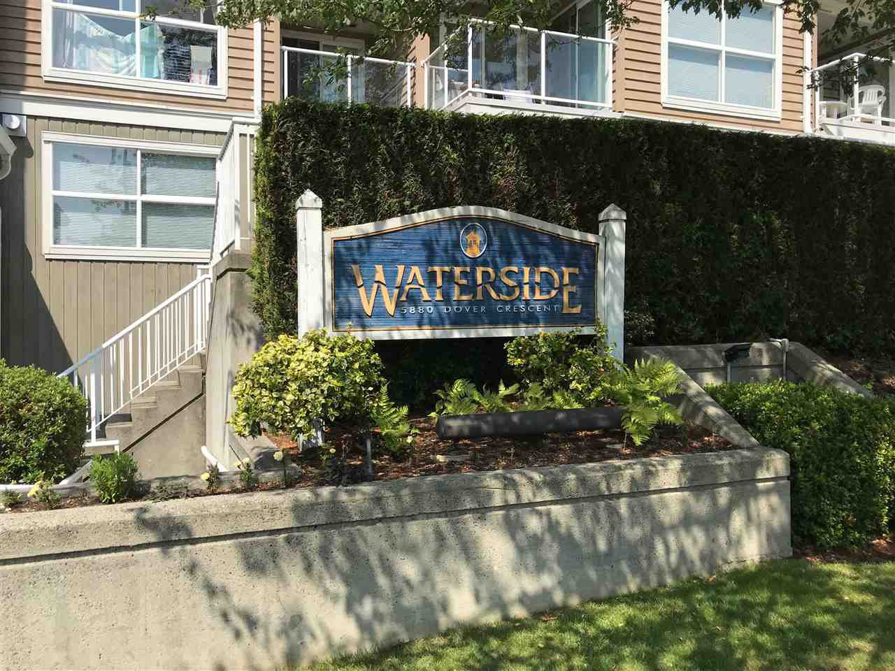 "Main Photo: 127 5880 DOVER Crescent in Richmond: Riverdale RI Condo for sale in ""WATERSIDE"" : MLS®# R2410658"