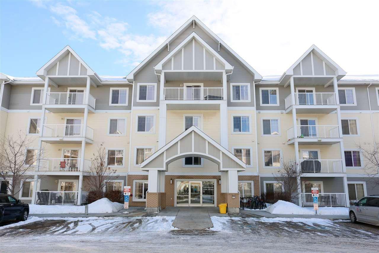 Main Photo: 406 2204 44 Avenue in Edmonton: Zone 30 Condo for sale : MLS®# E4187201