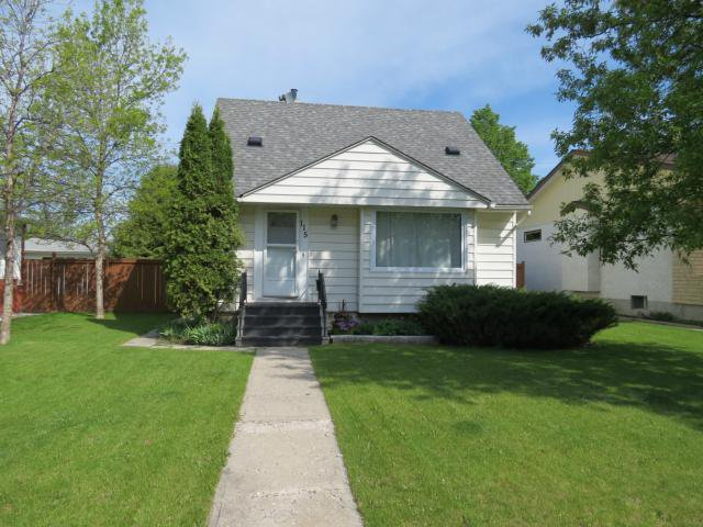 Main Photo: 115 Humboldt Avenue in WINNIPEG: St Vital Residential for sale (South East Winnipeg)  : MLS®# 1219971