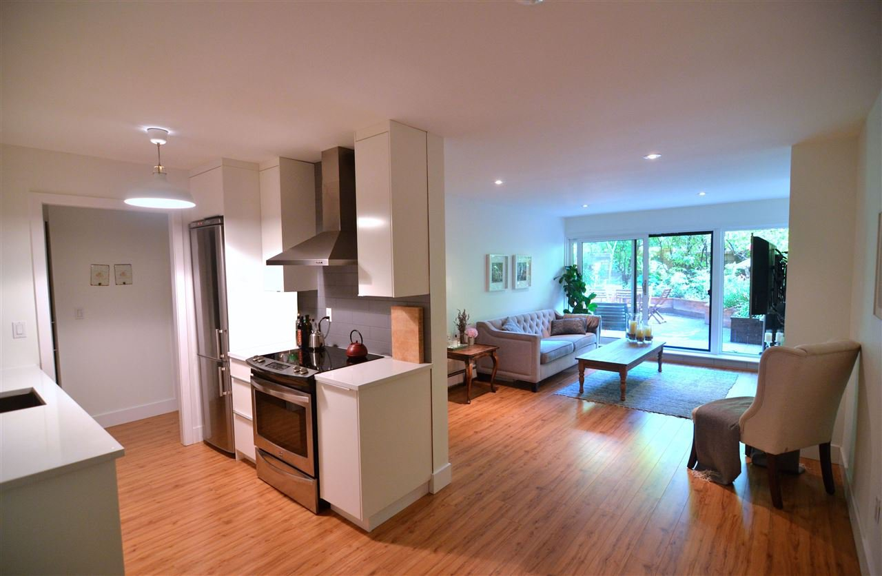 Photo 4: Photos: 407 1405 W 15TH AVENUE in Vancouver: Fairview VW Condo for sale (Vancouver West)  : MLS®# R2070206