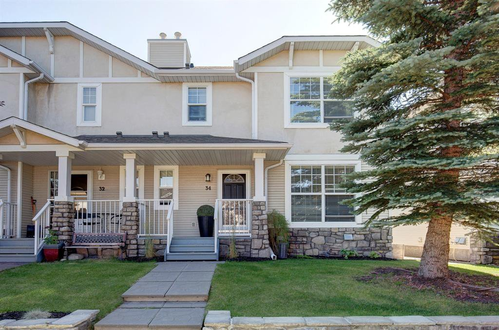 Main Photo: 34 West Springs Gate SW in Calgary: West Springs Row/Townhouse for sale : MLS®# A1020216
