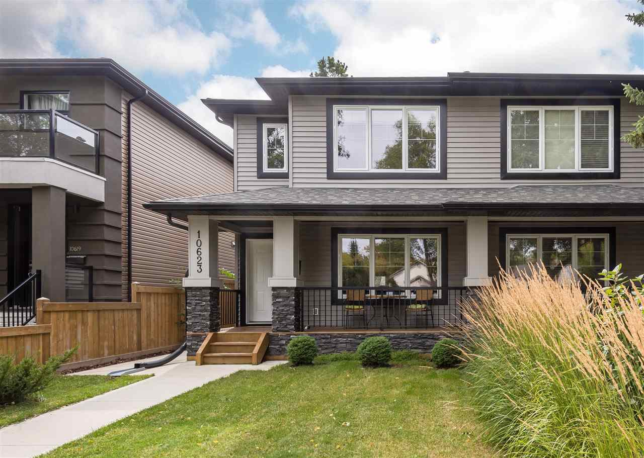 Main Photo: 10623 71 Avenue in Edmonton: Zone 15 House Half Duplex for sale : MLS®# E4212428