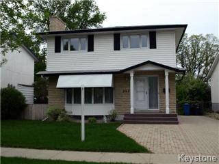 Main Photo: 397 Harcourt Street in Winnipeg: St James Single Family Detached for sale (West Winnipeg)  : MLS®# 1412611