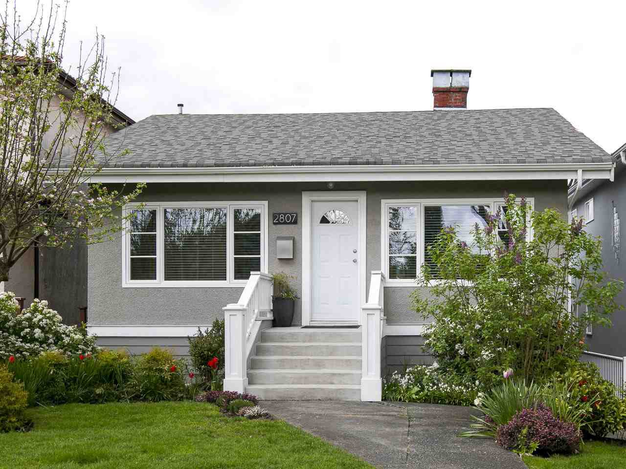 Main Photo: 2807 ETON STREET in Vancouver: Hastings East House for sale (Vancouver East)  : MLS®# R2058738