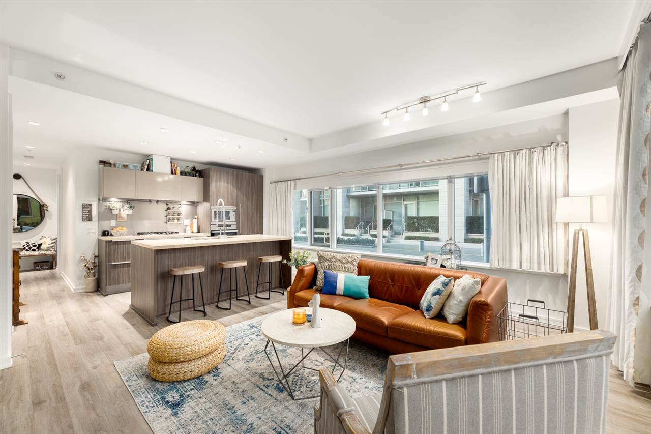 """Main Photo: 107 181 W 1ST Avenue in Vancouver: False Creek Condo for sale in """"BROOK"""" (Vancouver West)  : MLS®# R2422787"""