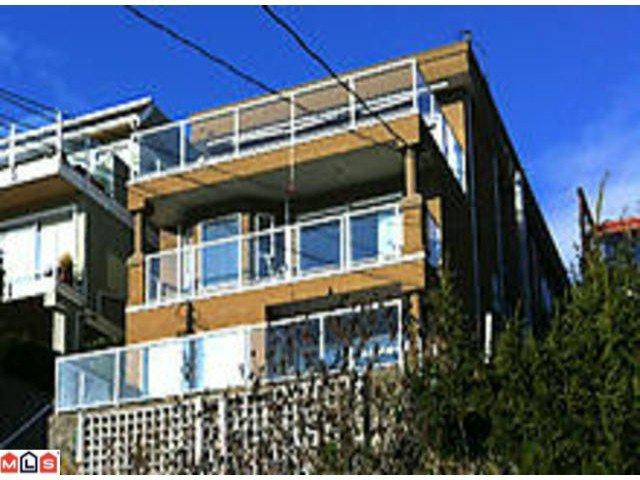 "Main Photo: 15349 VICTORIA Avenue: White Rock House for sale in ""WHITE ROCK HILLSIDE"" (South Surrey White Rock)  : MLS®# F1207001"