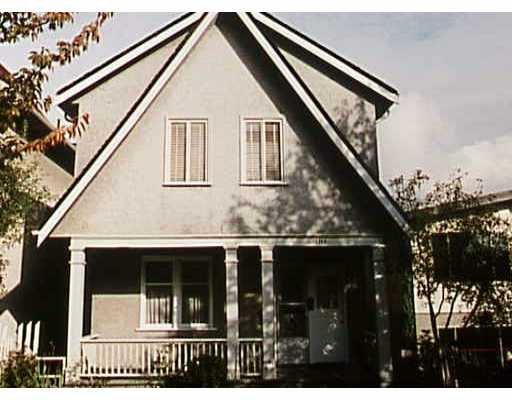 Main Photo: 1143 E 10TH AV in : Mount Pleasant VE House for sale : MLS®# V245453