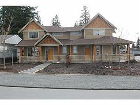 Main Photo: 698 Regan Avenue in Coquitlam: Coquitlam West House Duplex for sale : MLS®# v992399