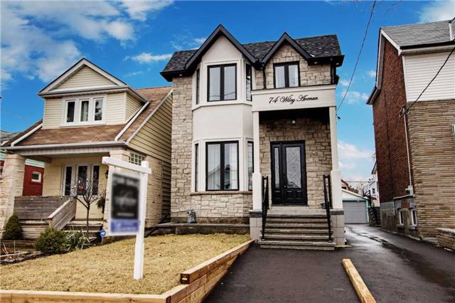 Main Photo: 74 Wiley Ave in Toronto: Danforth Village-East York Freehold for sale (Toronto E03)  : MLS®# E3741818