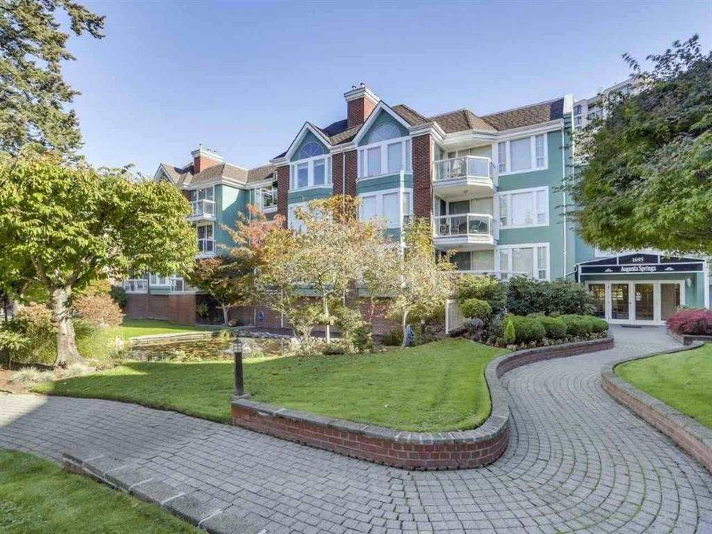 Main Photo: 205 1695 AUGUSTA AVENUE in Burnaby: Simon Fraser Univer. Condo for sale (Burnaby North)  : MLS®# R2345122