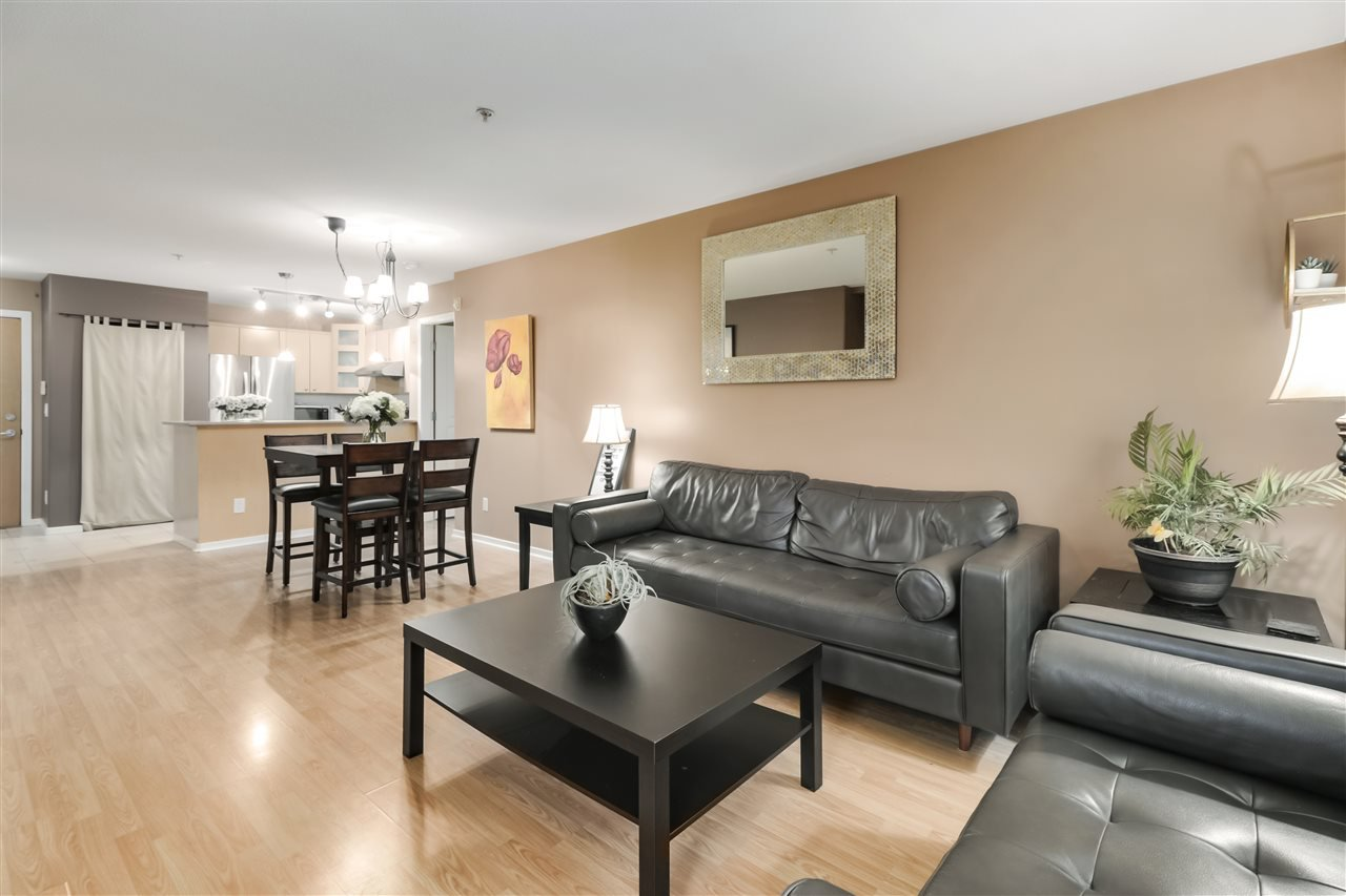 """Main Photo: 418 3122 ST JOHNS Street in Port Moody: Port Moody Centre Condo for sale in """"Sonrisa"""" : MLS®# R2528907"""
