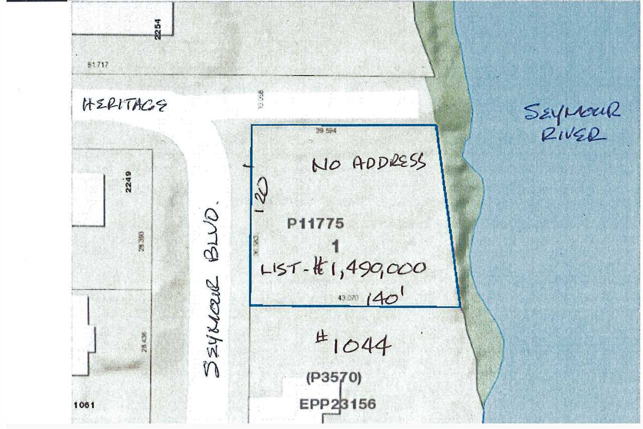Main Photo: LOT 1 11775 SEYMOUR BOULEVARD in North Vancouver: Seymour Land for sale : MLS®# R2030533