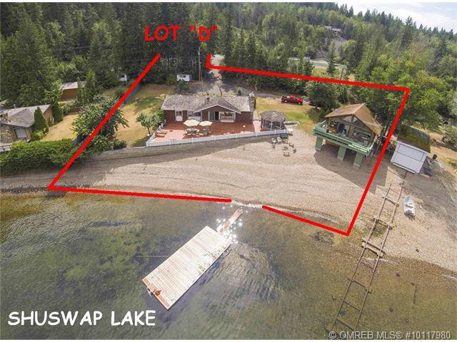 Main Photo: PL D 2639 Eagle Bay Road in Eagle Bay: Reedman Point House for sale : MLS®# 10117980