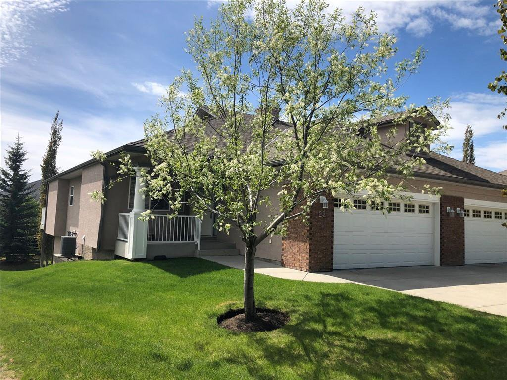 Main Photo: 22 Straddock Villas SW in Calgary: Strathcona Park Semi Detached for sale : MLS®# A1038365