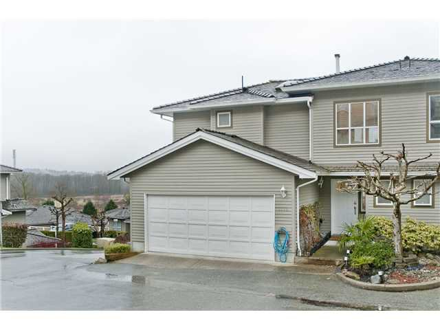 "Photo 1: Photos: 1115 CLERIHUE Road in Port Coquitlam: Citadel PQ Townhouse for sale in ""THE SUMMIT"" : MLS®# V993280"