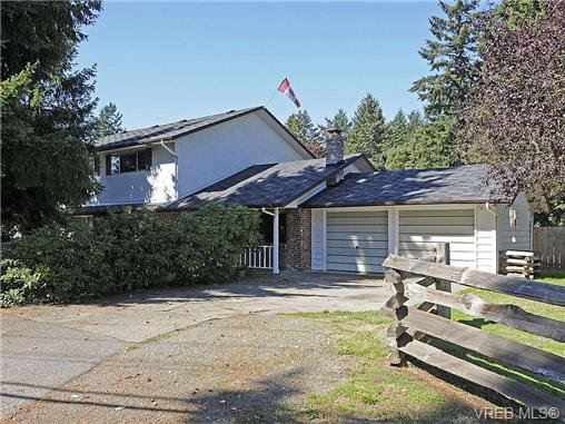 Main Photo: 3328 Wishart Rd in VICTORIA: Co Wishart North Half Duplex for sale (Colwood)  : MLS®# 651471