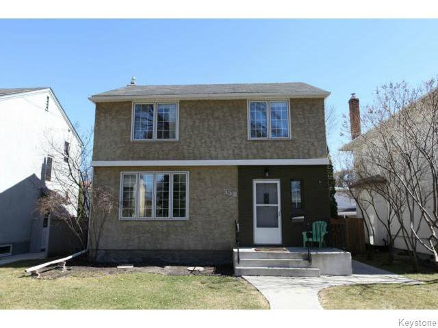 Main Photo: 558 Queenston Street in Winnipeg: Single Family Detached for sale (River Heights)  : MLS®# 1205917