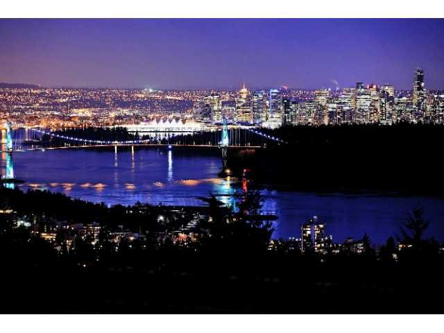 Stunning views of Vancouver and the Lions Gate