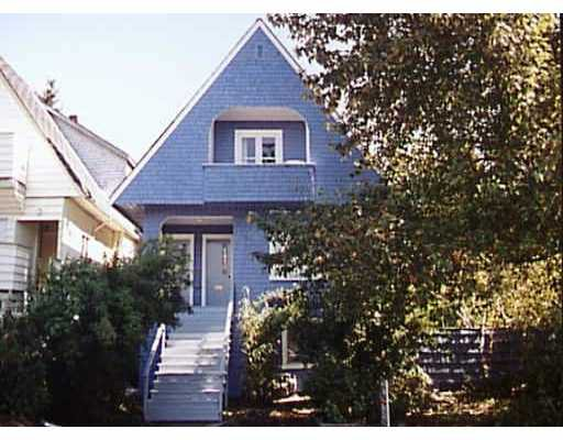 Main Photo: 1848 - 1850 MACDONALD ST in : Kitsilano House Triplex for sale : MLS®# V265055