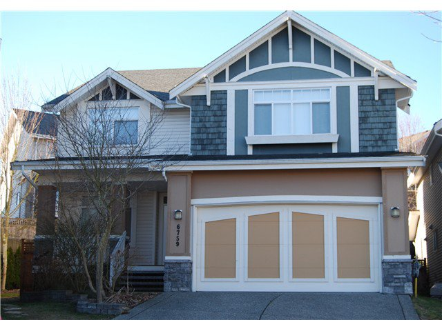 Main Photo: 6759 204b in Langley: Willoughby Heights House for sale : MLS®# f1402779