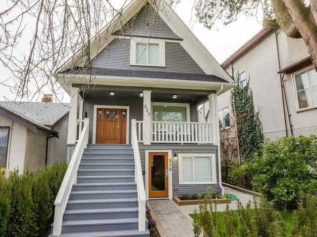 Main Photo: 920 East 10th Ave in Vancouver: Mount Pleasant VE House for sale (Vancouver East)  : MLS®# V1109698