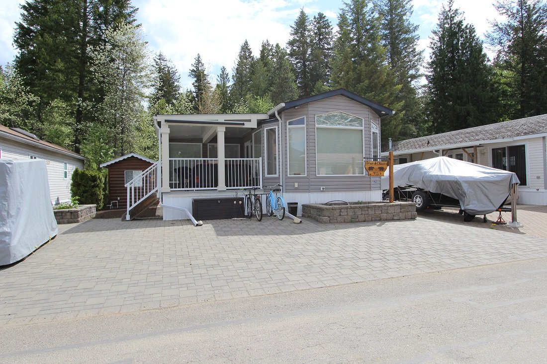 Photo 1: Photos: 175 3980 Squilax Anglemont Road in Scotch Creek: North Shuswap Manufactured Home for sale (Shuswap)  : MLS®# 10159462
