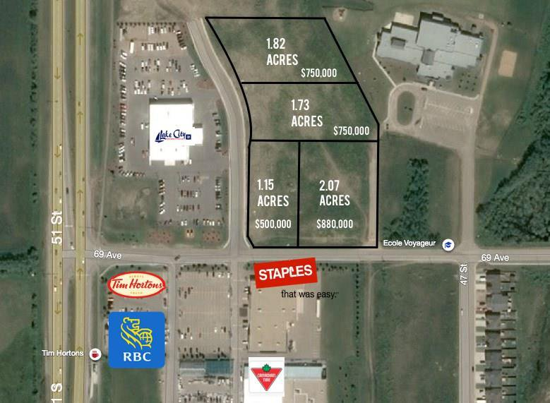 Main Photo: 6902 Voyageur Way in Cold Lake: Land Commercial for sale : MLS®# E4139974