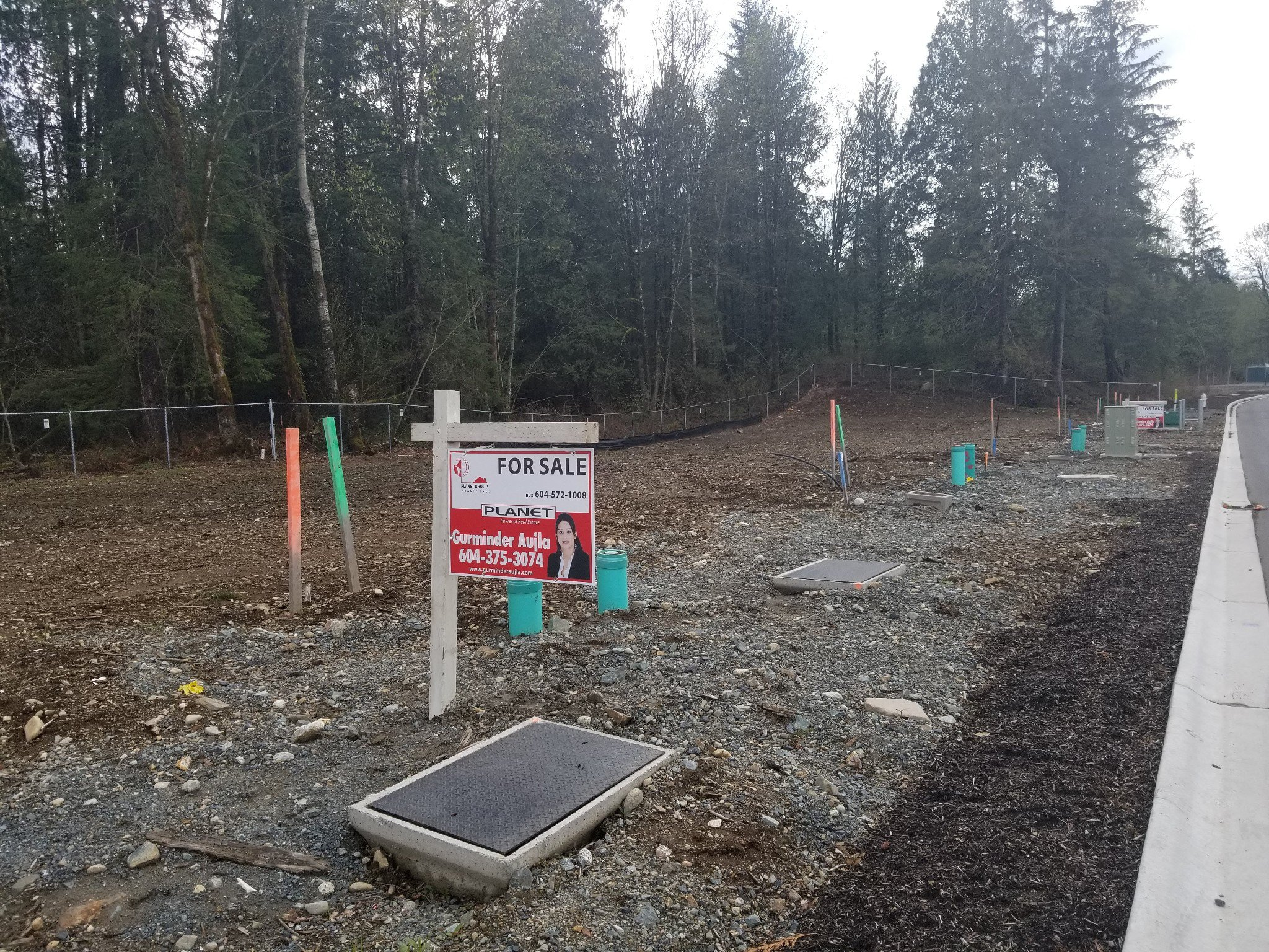 Main Photo: Lot 60 4676/ 4737/ 4633 Sumas Mountain Road in Abbotsford: Abbotsford East Land for sale