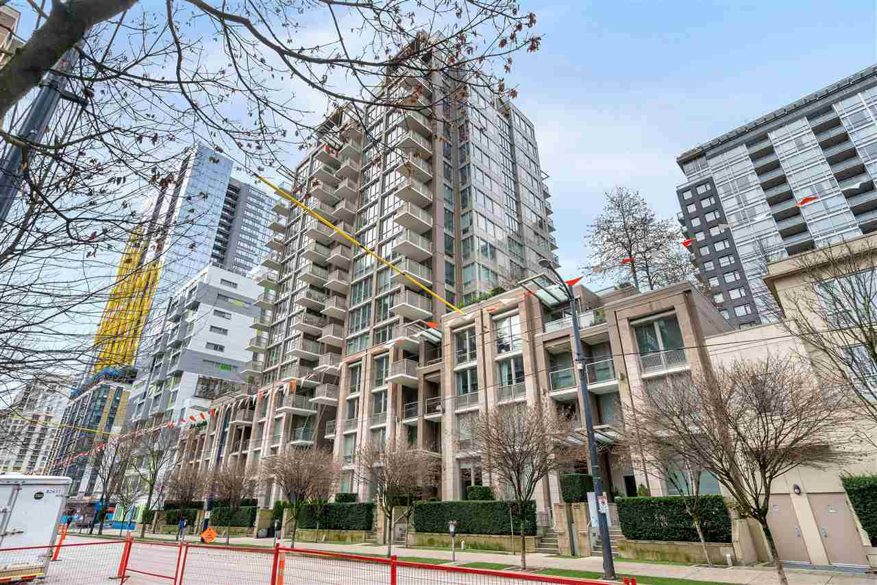 Main Photo: 1208 1055 RICHARDS Street in Vancouver: Downtown VW Condo for sale (Vancouver West)  : MLS®# R2527512