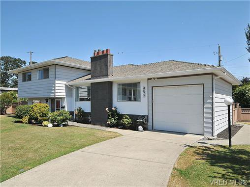 Main Photo: 4021 Oberlin Pl in VICTORIA: SE Gordon Head House for sale (Saanich East)  : MLS®# 648108