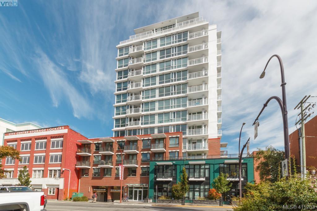 Main Photo: 607 834 Johnson St in VICTORIA: Vi Downtown Condo Apartment for sale (Victoria)  : MLS®# 823678