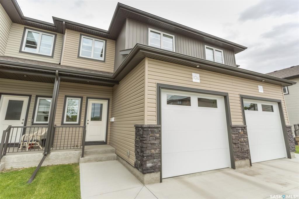 Main Photo: 106 Demarco Pointe Lane in Regina: Rosemont Condominium for sale : MLS®# SK785212