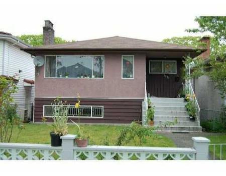 Main Photo: 2233 E 44TH AV in Vancouver: House for sale (Killarney VE)  : MLS®# V833613