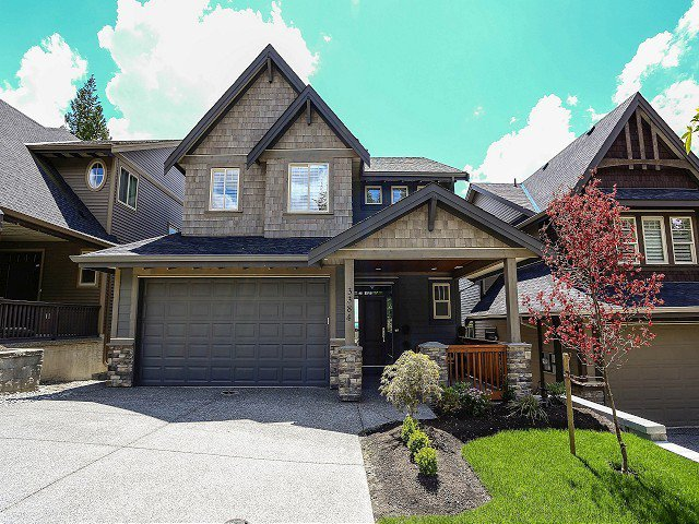 "Main Photo: 3384 HORIZON Drive in Coquitlam: Burke Mountain House for sale in ""SOUTHVIEW"" : MLS®# V1007376"