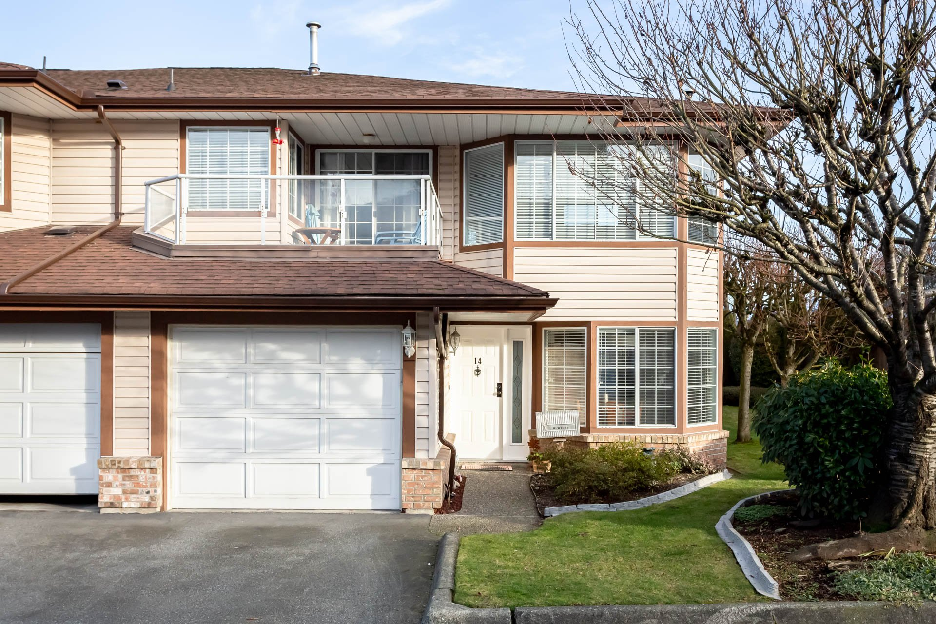 Main Photo: 14 32659 George Ferguson Way in Abbotsford: Abbotsford West Townhouse for sale : MLS®# R2331851