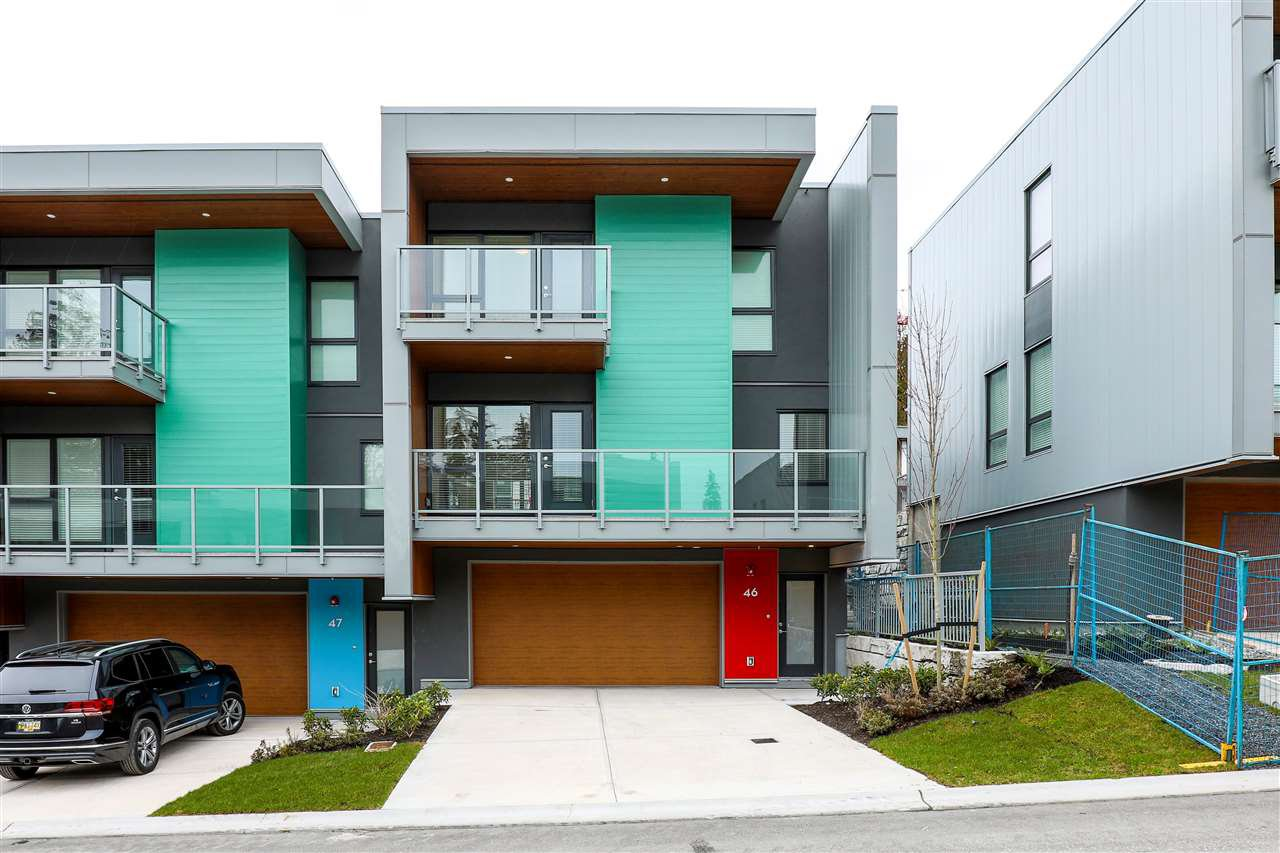 Main Photo: 46 3596 SALAL DRIVE in North Vancouver: Roche Point Townhouse for sale : MLS®# R2330166