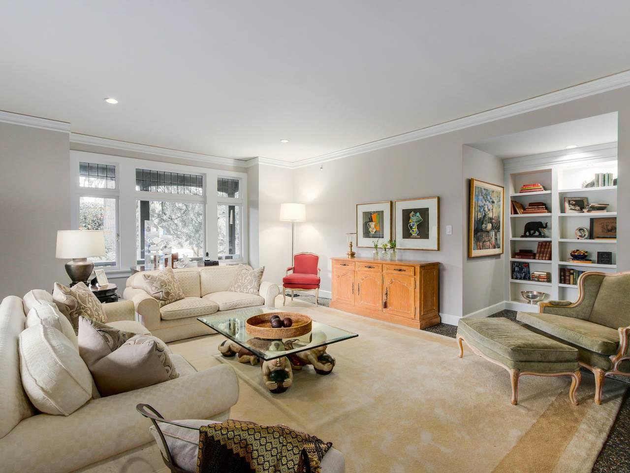 """Main Photo: 1496 MATTHEWS Avenue in Vancouver: Shaughnessy Townhouse for sale in """"BRIGHOUSE MANOR"""" (Vancouver West)  : MLS®# R2418292"""