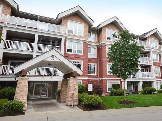 "Main Photo: 410 6450 194 Street in Surrey: Clayton Condo for sale in ""Waterstone"" (Cloverdale)  : MLS®# R2449085"