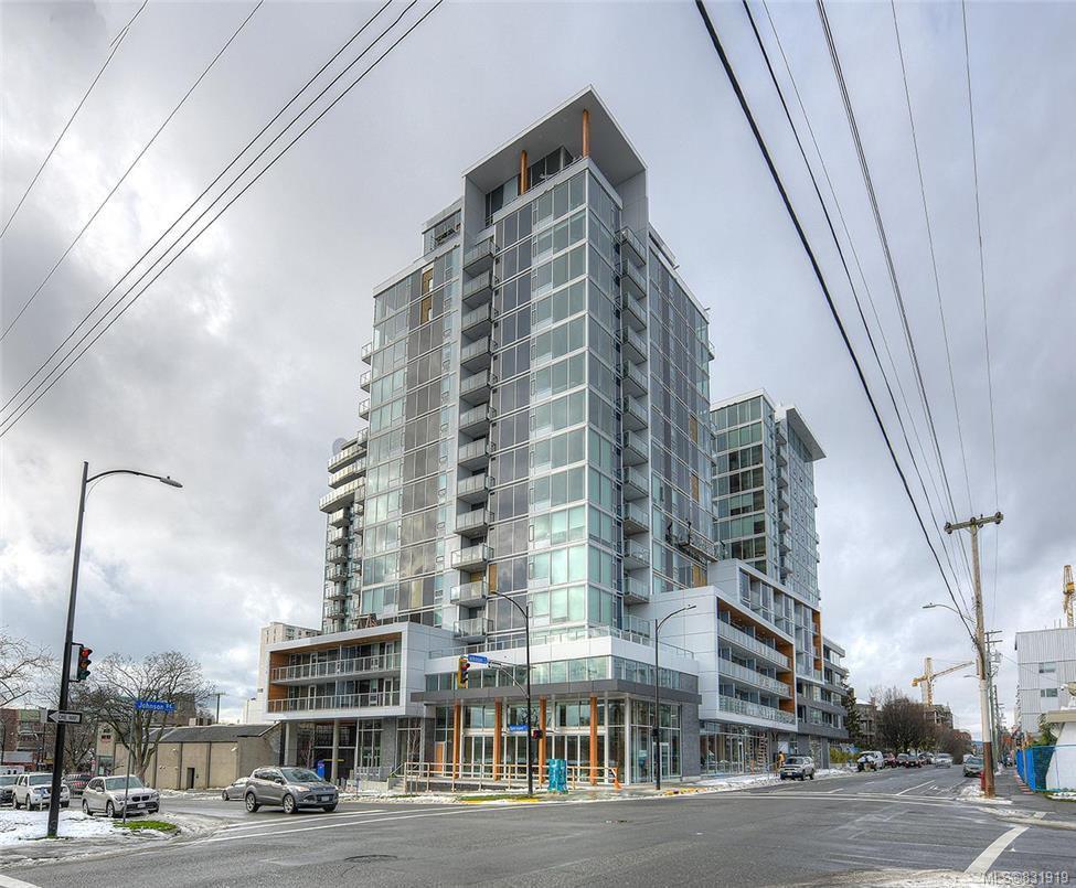 Main Photo: 213 989 Johnson St in Victoria: Vi Downtown Condo for sale : MLS®# 831919