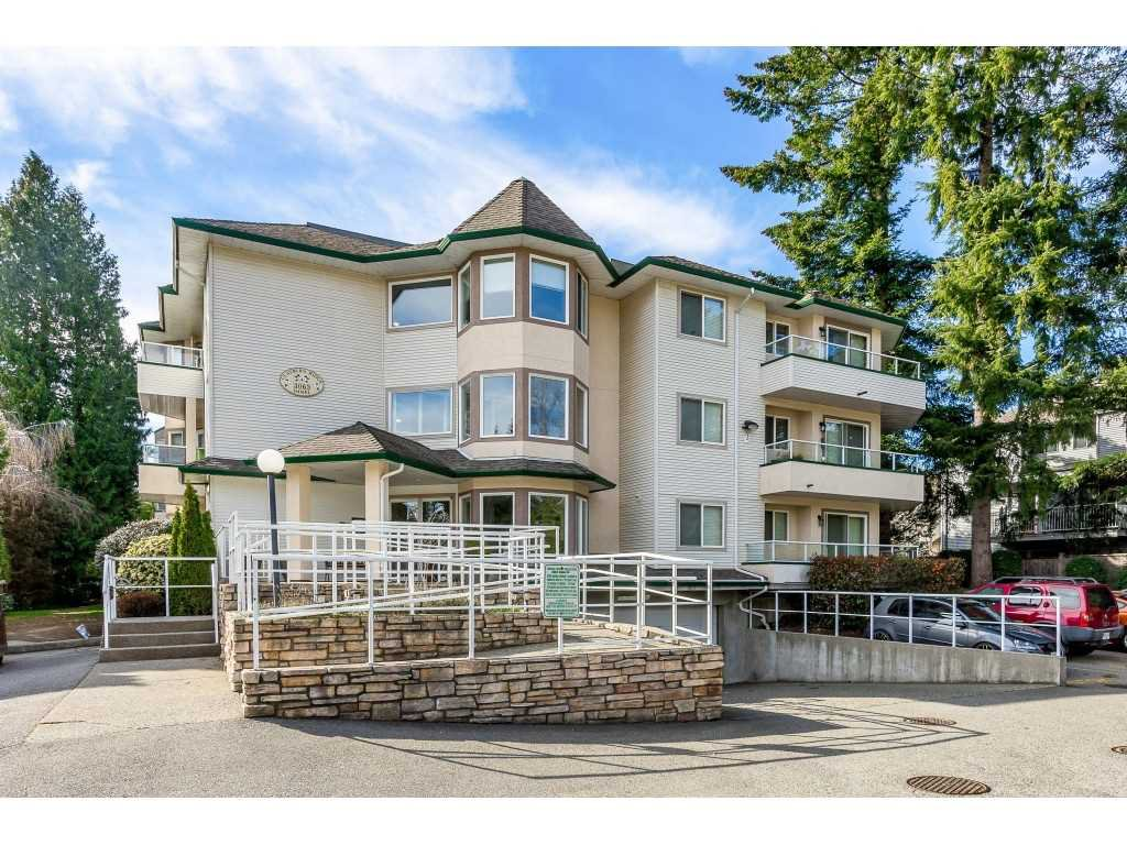 "Main Photo: 105 3063 IMMEL Street in Abbotsford: Central Abbotsford Condo for sale in ""Clayburn Village"" : MLS®# R2524410"