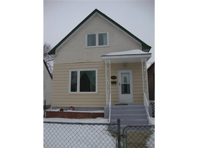 Main Photo: 1611 Alexander Avenue West in WINNIPEG: Brooklands / Weston Residential for sale (West Winnipeg)  : MLS®# 1223723