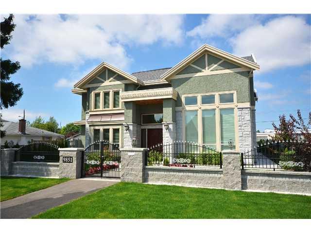 Main Photo: 9851 HERBERT Road in Richmond: Broadmoor House for sale : MLS®# V1015994